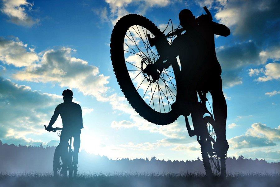 Ponte en forma practicando ciclismo